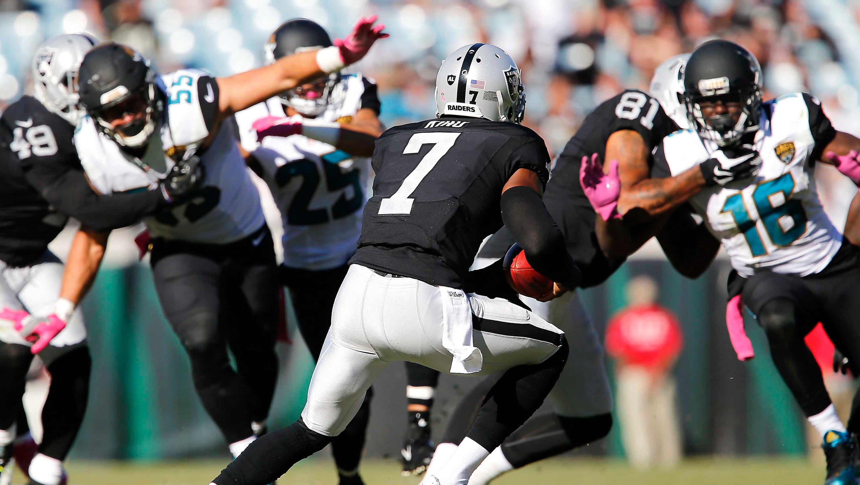 raiders punter shows off speed on 27 yard run. Cars Review. Best American Auto & Cars Review
