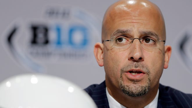 Penn State head coach James Franklin is a finalist for the Eddie Robinson Coach of the Year Award.