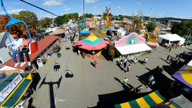 The Bloomsburg Fairground, Bloomsburg, Pa.