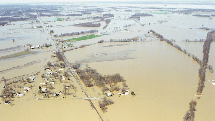 'A real mess': Reflections on the 1997 Ohio River flood