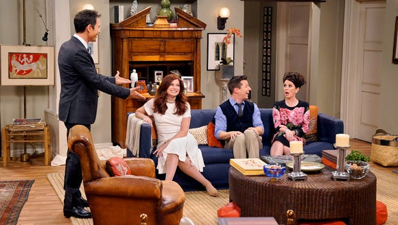 Not just Jack: The 'Will & Grace' gang put on a show
