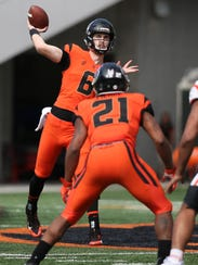Oregon State's Jake Luton could bring the deep ball