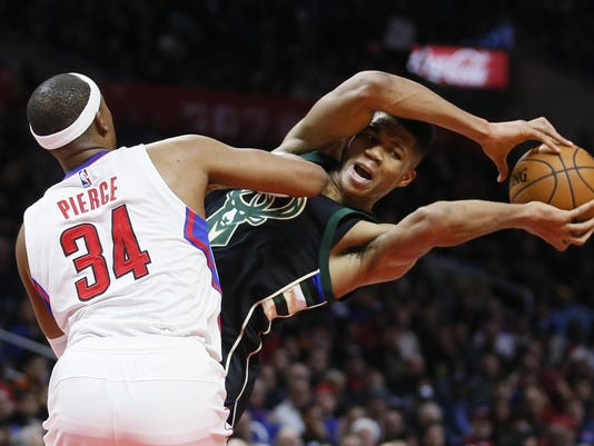 Giannis Antetokounmpo, Paul Pierce