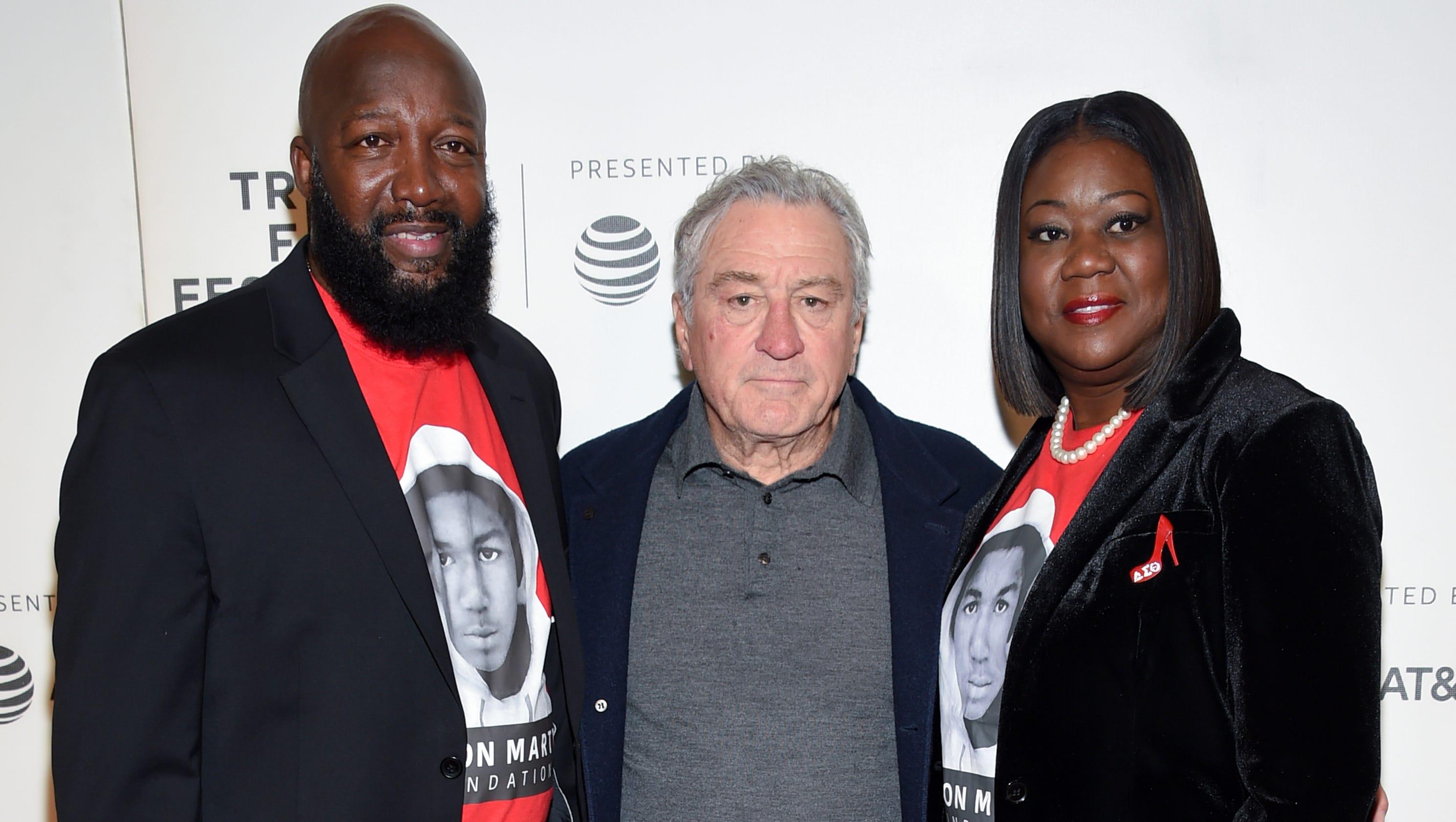 Trayvon Martins parents bring...