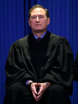 Supreme Court Justice Samuel Alito appeared at an event last month in Hamilton Township, N.J., where he was raised.