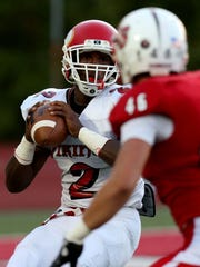 Princeton High School quarterback Tyrell Gilbert (2)