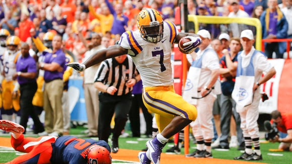 Leonard Fournette and LSU should find its job easier on Saturday against Florida, even against the stout Gators defense.