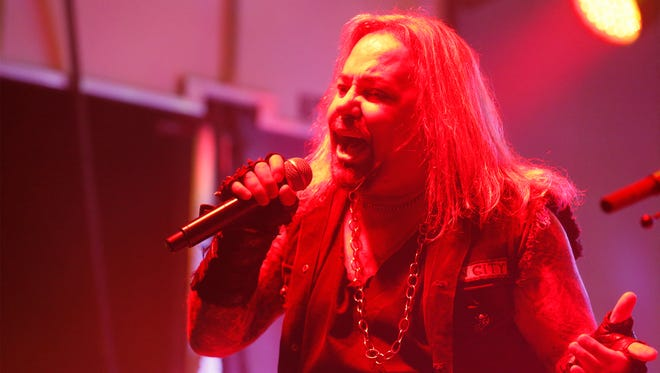 Singer Vince Neil of Motley Crüe fame will perform June 15 in the El Paso County Coliseum.