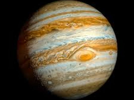 Jupiter, being as large as it is, might accordingly be a large target for impacting objects.