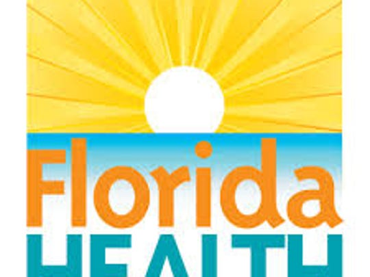 A Florida Department of Health logo.