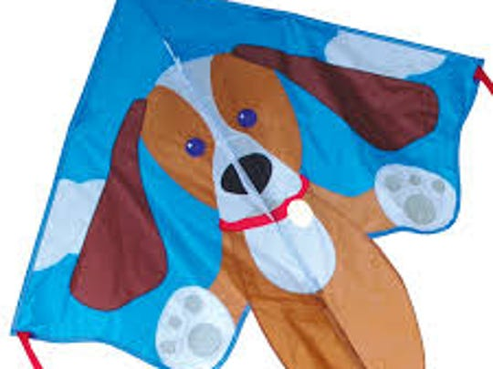 Kites are a perfect Christmas gift because they can be flown at all times of the year.