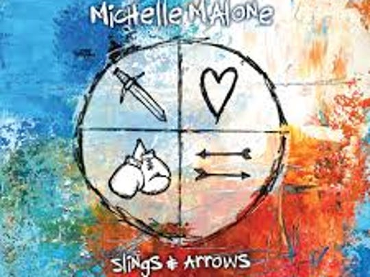"""Slings & Arrows"" by Michelle Malone"