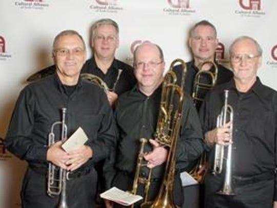 First Capital Brass will perform July 4 at St. John's Episcopal Church.