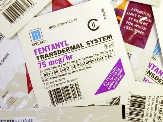 Fentanyl, a synthetic opiate similar to but more powerful than morphine, is often mixed with heroin.
