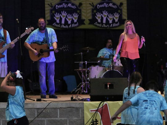 This year's Country Music Lends Down a Hand concert is June 26 at Casey Jones Village.