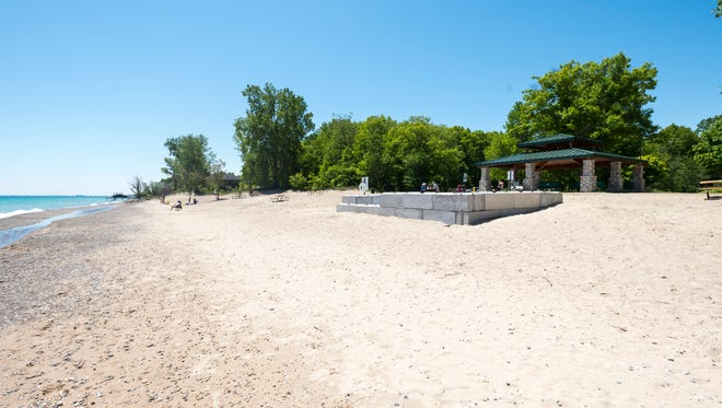Fort Gratiot County Park on a warm day Monday, June 11, 2018. The county is working to ban smoking from its parks.