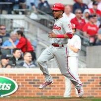 Phillies blow lead, drop opener in Atlanta