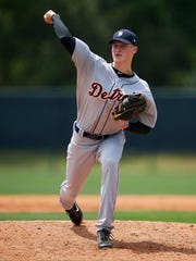 Tigers pitching prospect Matt Manning was 4-2 with