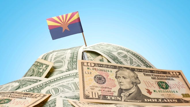 ECONOMIC MOMENTUM: Arizona is ranked No. 5 for economic momentum, according to a March 2018 national report called the Federal Funds Information for States.