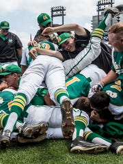 Newark Catholic beat Berlin Center Western Reserve 7-0 to take home the Division IV state championship in June.