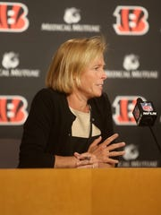 Cincinnati Bengals executive vice president Katie Blackburn chairs two important NFL committees.