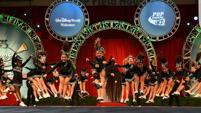 The Naples Bears pee-wee cheerleaders brought home a national championship, winning their division at the Pop Warner Cheer and Dance Competition, held Dec. 6 at Disney's ESPN Wide World of Sports Complex.
