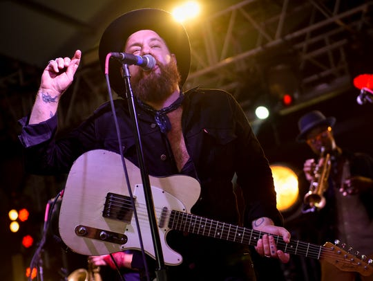 Nathaniel Rateliff and The Night Sweats perform at