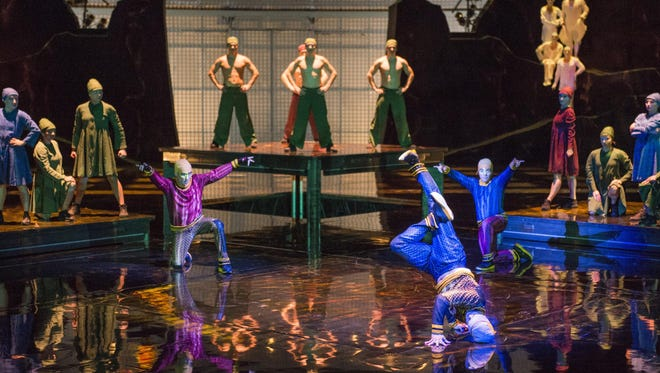 Cirque du Soleil has made changes to its La Nouba show in Orlando. The B-Boys add an urban flavor to the show.