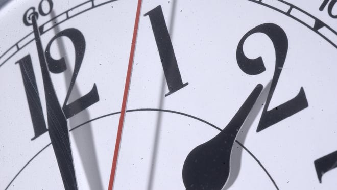 We lose an hour of sleep Saturday night going into Sunday morning. Remember to set your time an hour ahead before bed.