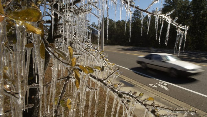 The National Weather Service has issued a freeze warning Monday morning.