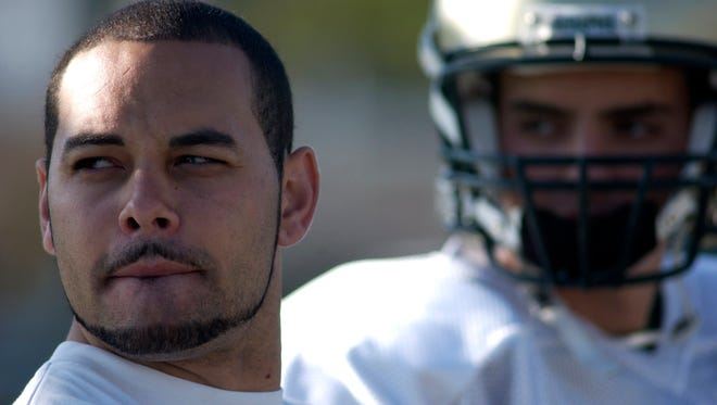 Former Ventura High football star Tyler Ebell heads the class of 2018 for the Ventura County Sports Hall of Fame.