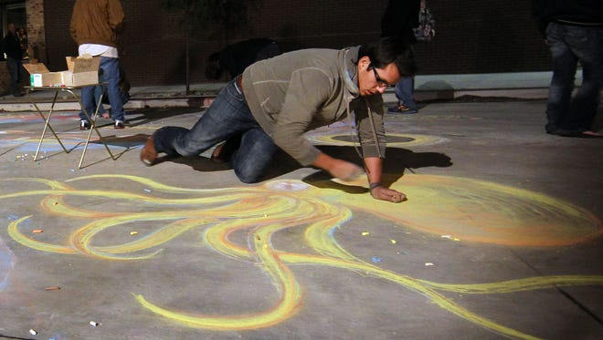 Chalk Art will be featured from 8 a.m. to 6 p.m. on Aug. 4. Jeannette Merten/USA TODAY NETWORK-Wisconsin file photo