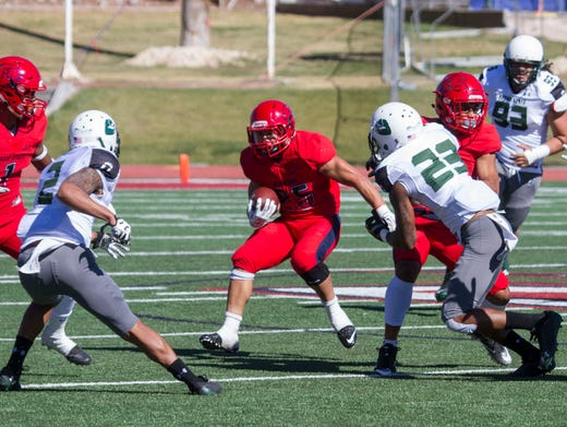 Dixie State Football Trailblazers Come Up Short On Senior Day