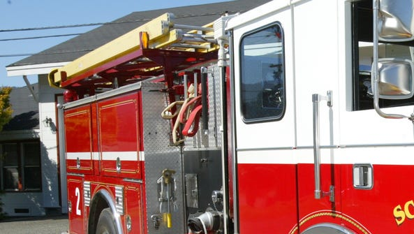 Two Virginia firefighters were suspended after using