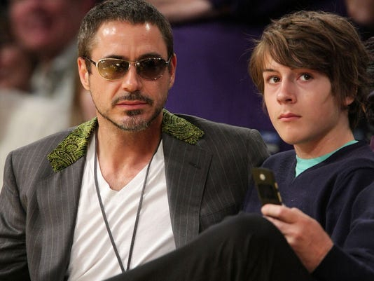 Robert Downey Jr S Son Used Drugs From Age 12