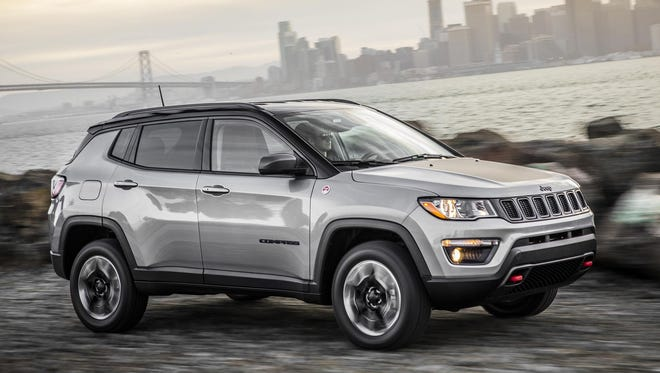 All-new 2017 Jeep Compass Trailhawk