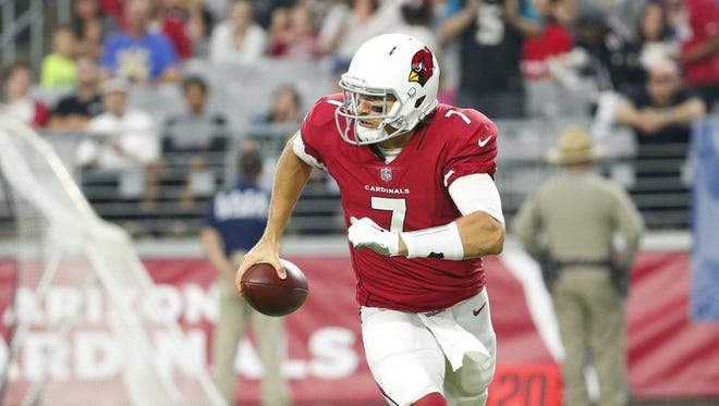 The Cardinals are sticking with Blaine Gabbert as their starting quarterback.