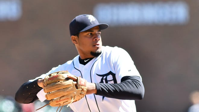 Third baseman Jeimer Candelario leads the Tigers with a 1.4 WAR through 39 games.