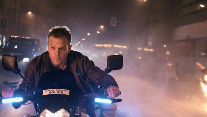 "Matt Damon stars in ""Jason Bourne,"" opening in El Paso theaters this week."