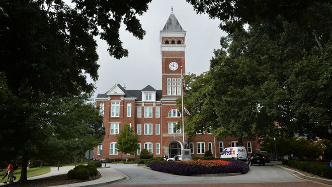 The chairman of the state Higher Education Commission said Clemson University and South Carolina's other public colleges and universities are spending too much money, which is driving up tuition costs for students.