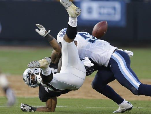 Titans vs. Raiders: 5 things we learned