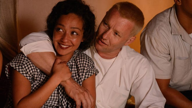 "Ruth Negga and Joel Edgerton are the interracial couple at the heart of ""Loving."""