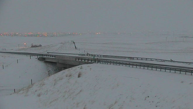 MDT reported a number of road closures and severe driving conditions around northcentral Montana Wednesday evening.