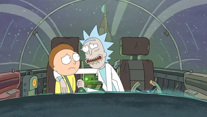 'Rick and Morty' isn't going anywhere, as Adult Swim ordered 70 more episodes of the animated hit on Thursday.