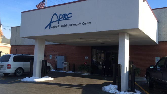 The Brown County Aging and Disability Resource Center's main entrance.