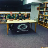 Genoa's Gabe Scott second in family to play baseball at Tiffin