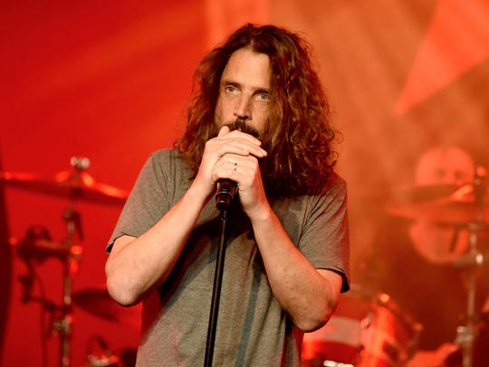 The late Chris Cornell, former frontman for Soundgarden,