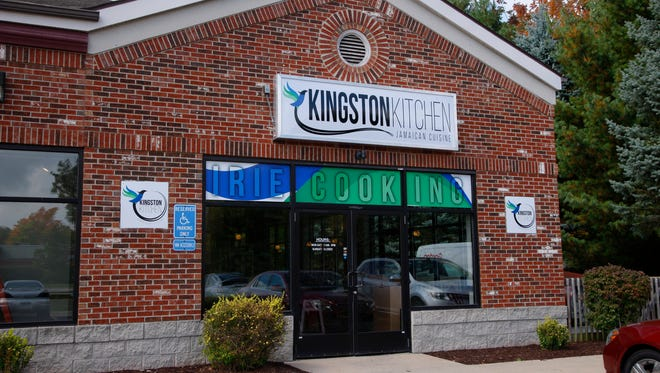 Shawn Fearon's new restaurant, Kingston Kitchen, is shown Monday, Sept. 18, 2017, in Okemos, Mich.