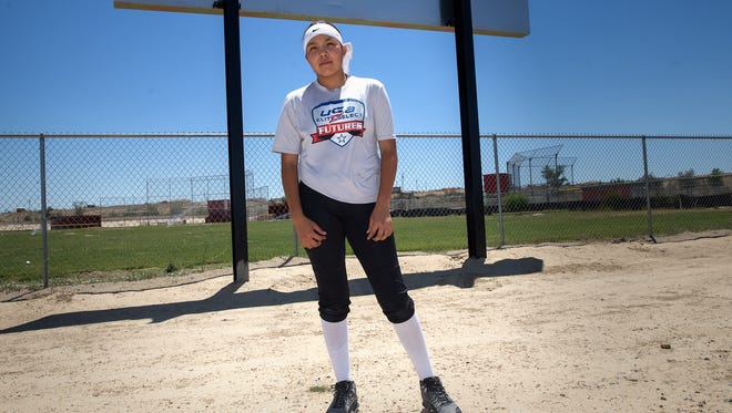 Shiprock softball player Lanae Billy is headed to Florida next month to take part in USA Elite Select's Futures All-American Games.