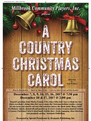 "The Millbrook Community Players are presenting ""A Country"